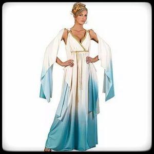 GREEK GODDESS COSTUME-ADULT HALLOWEEN FANCY DRESS